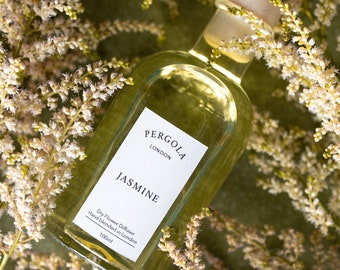 Diffuser Reed - Jasmine - Scented Diffuser  - Natural Diffuser - Vegan Diffuser - Dried Flowers