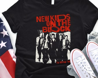 7e383d95 New Kids on the Block Shirt Vintage NKOTB The Mixtape Tour Tshirt 30 Years  Aniversity Shirt Nkotb concert