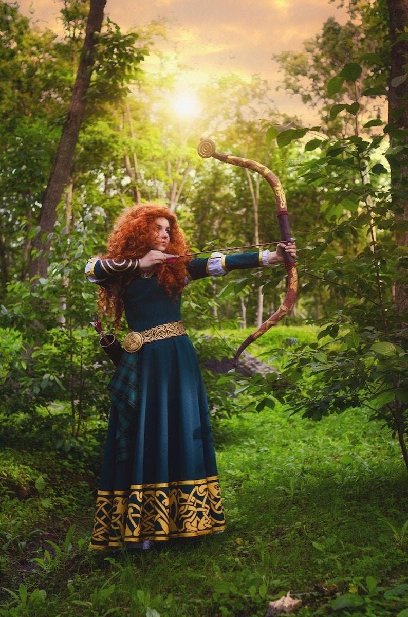 Brave Princess Merida Disney Dress - Costume