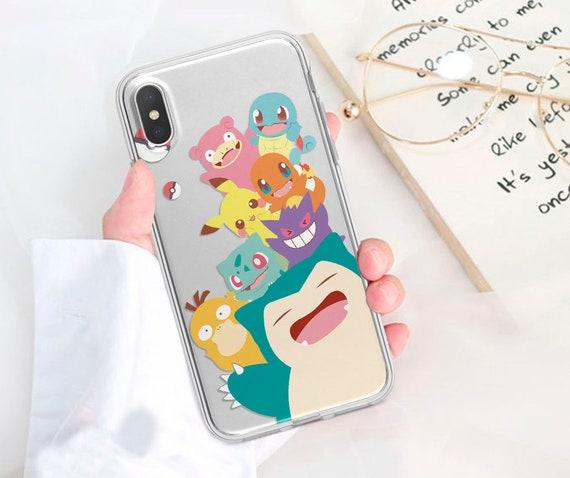 Pokemon Snorlax Glass iphone case