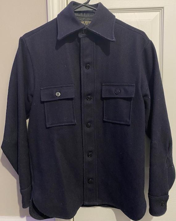 Vintage Brooks Brothers Wool Overcoat