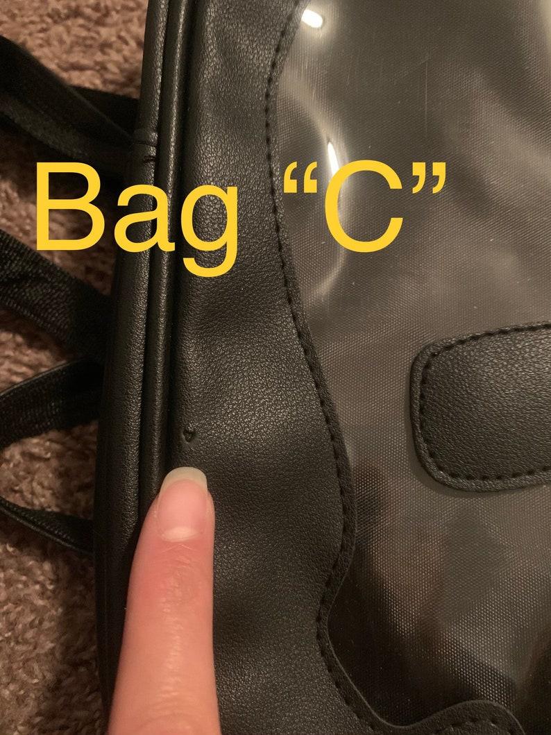 DEFECTIVE Skull Ita Bag Backpack Vegan Leather Free Shipping