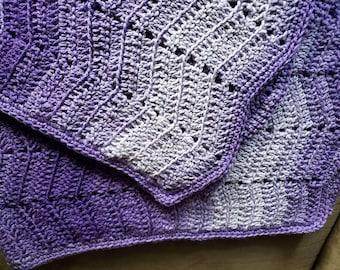 Acrylic yarn blanket | Etsy