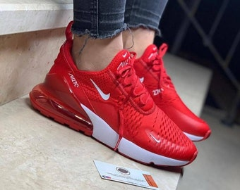 sports shoes e86d6 4b1ea Air max Nike 270 Costum, Red Nike Shoes for Men,airmax 270