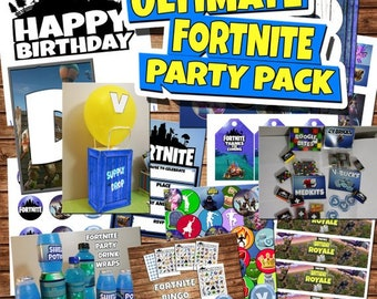 Fortnite party | Etsy