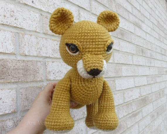 Cute Lion Amigurumi Free Crochet Patterns | 459x570
