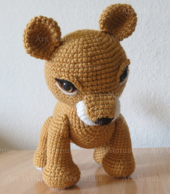 The Lion King Simba Amigurumi Pattern - Darth Makers | Amigurumi ... | 649x570