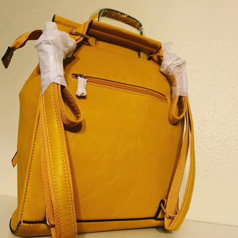 Convertible Backpack Purse