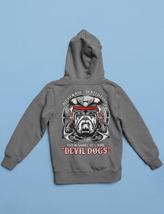 Hoodie your choice Sweatshirt Embroidered USMC Marine Corp Mom  T shirt