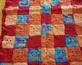 Crochet baby blanket, crochet baby Afghan, baby blanket, baby Afghan, handmade, crib blanket, crib Afghan, nursery blanket, nursery afghan