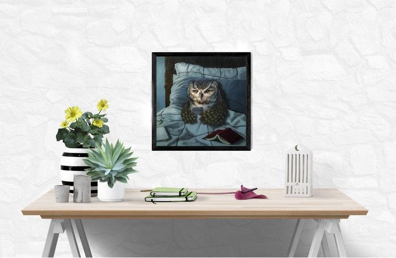 Lucia Heffernan Night Owl by Lucia Heffernan