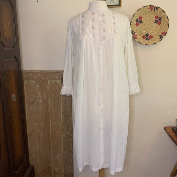Vintage Victorian style nightgown