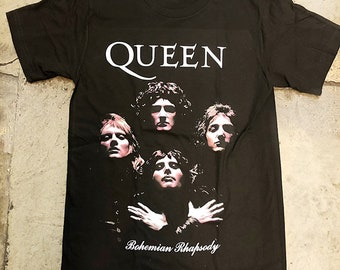 9a38fc77 Queen Bouemian Rhapsody T shirt * officially licenced *