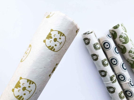 Gift wrapping paper (2 sheets) | McAlister, The Tiger