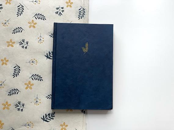Handmade Paper Journal | Indigo Blue