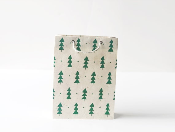 Christmas Gift Bag (2 bags) | Christmas Trees