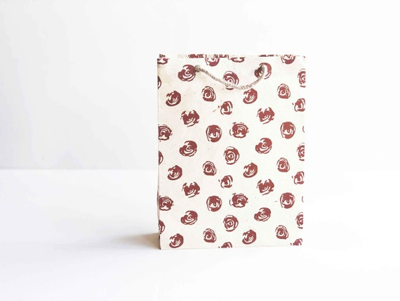 Gift bag - Red Roses (2 bags)