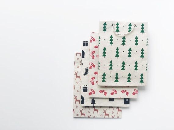 Christmas Gift Bag Set - Variety Pack (4 bags)
