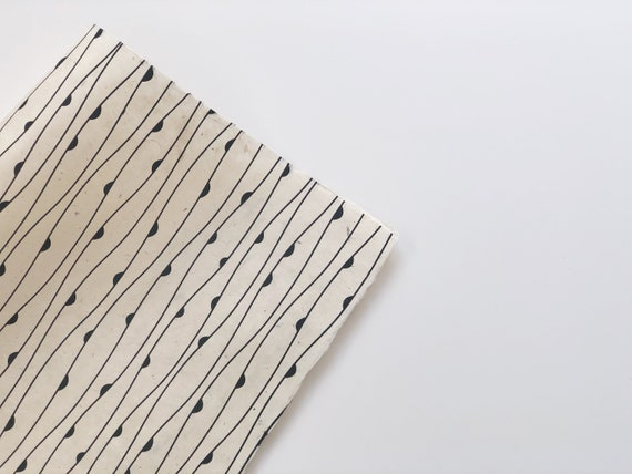 Gift wrapping paper set (2 sheets) | Botanicals D1