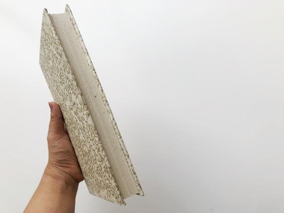 Handmade paper notebook | Gold Fern