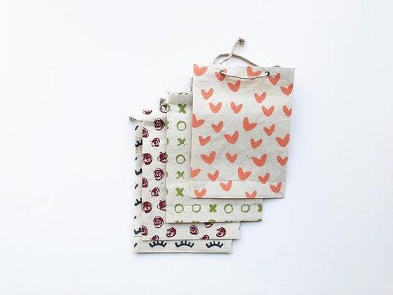 Gift bag set (4 bags) | Sweet Love