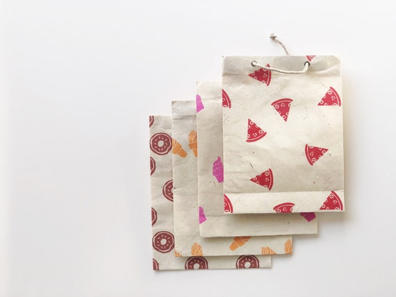 Gift bag set (4 bags) | Foodie Affair