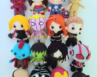 Superhero Amigurumi Ideas | 270x340