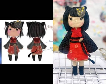 Custom Plush Commisssion, Custom Crochet Doll, Custom Doll From Photos, Childrens Pictures to Plush Toys, Custom Plush from Drawing