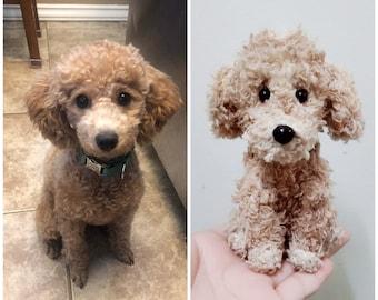 Custom Stuffed Dog, Custom Crochet Dog, Custom Dog Plush, Custom Stuffed Animal, Custom Pet Plush, Personalized Pet Gift, Pet Memorial