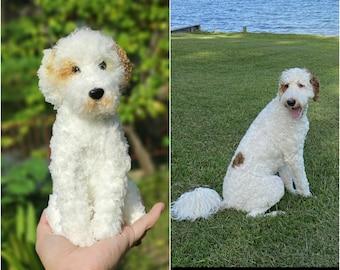 Custom Stuffed Dog, Custom Dog Plush, Custom Crochet Dog, Custom Pet Plush, Custom Stuffed Animal, Personalized Pet Gift, Dog Mom, Dog Dad