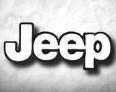 Jeep Racing Patch Iron on Clothes Jacket T-Shirt Coat Denim Jean Cap Bag Motor Sports Custom Off-Road Style Premium SUV Smart Strong Extreme