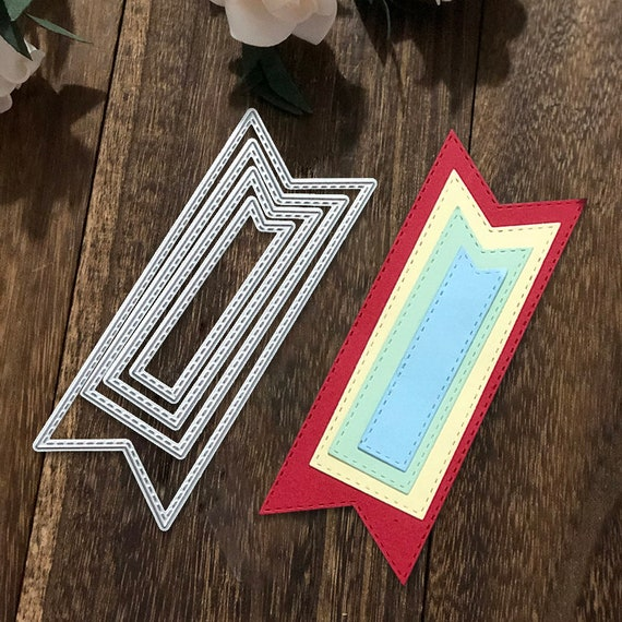 Craft diy Cutting Card Metal Die Dies Mold Scrapbooking Embossing Banner making