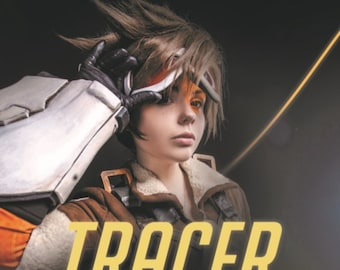 Items similar to Overwatch Tracer cosplay pistol DIY