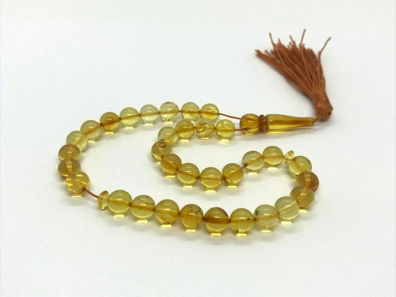 100/% Natural Baltic Amber Olive Loose Beads Gemstone 30pcs