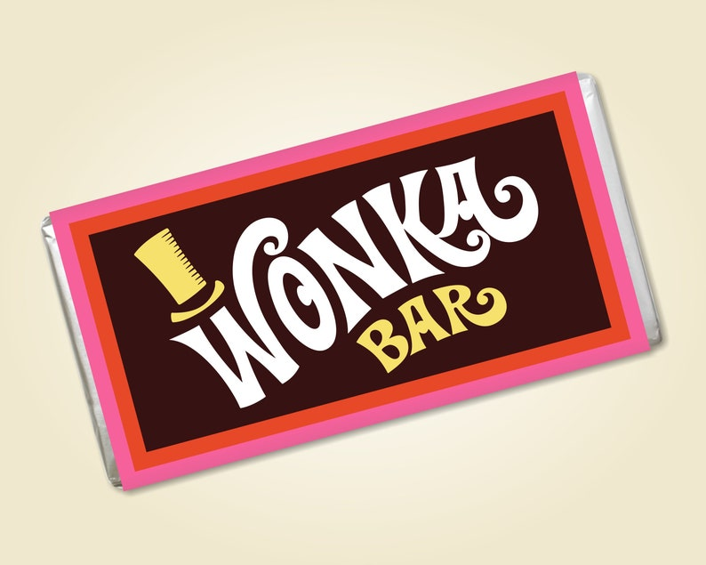 photo about Printable Wonka Bar Wrapper identified as Printable Wonka Bar Wrapper Clic