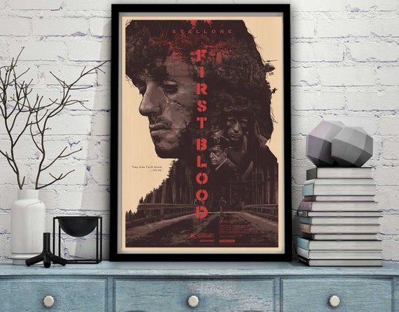 Print Art Poster The Grey Poster Home Decor The Grey Minimalist Movie Poster Print