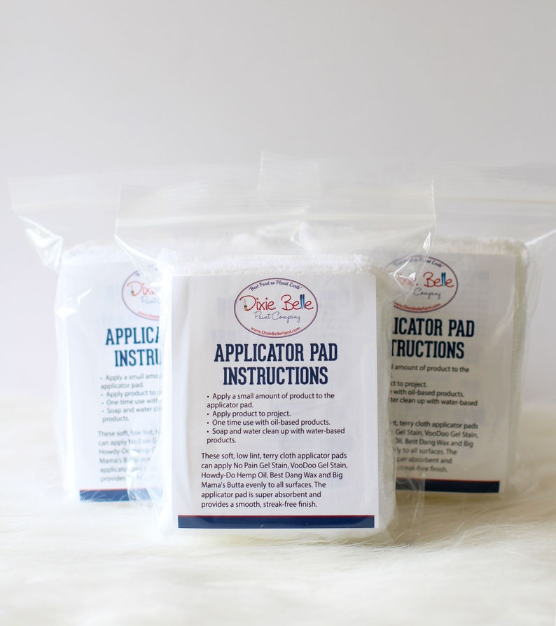 Dixie Belle APPLICATOR PADS image 0