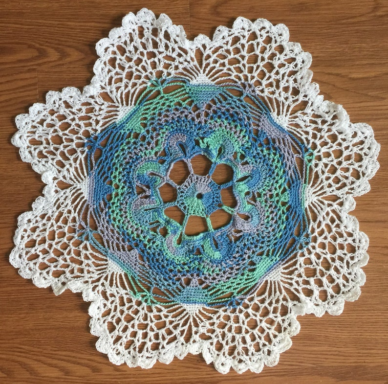Exquisite Doily Home Decor Table Intricate Heirloom Quality image 0
