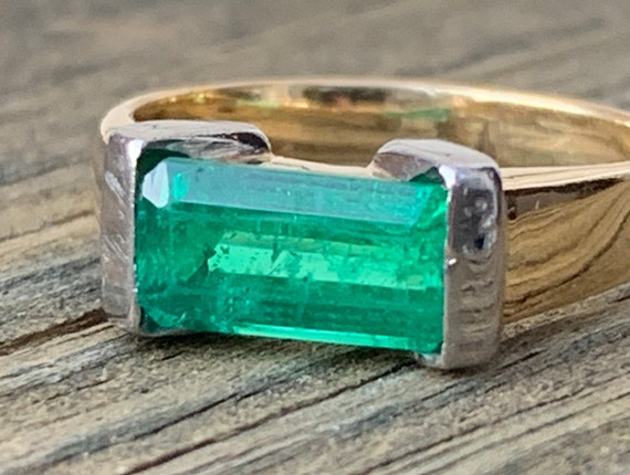 Genuine Colombian emerald pendant Carats 0.4 real natural emerald silver 925