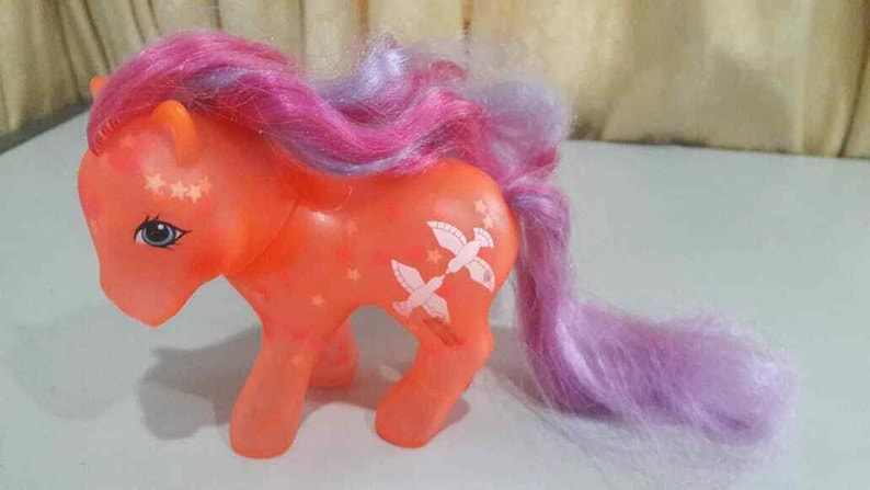 MY LITTLE PONY G1 Brightglow Glow N Show Hasbro Vintage mlp