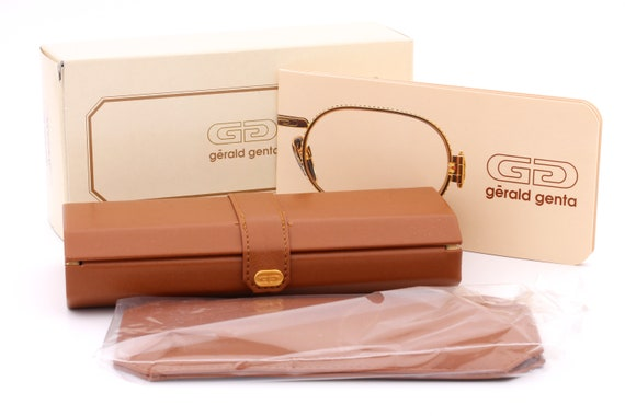 Gerald Genta New Classic 14 vintage sunglasses oval shades gentleman sunglasses high quality material made by Orama New Old Stock