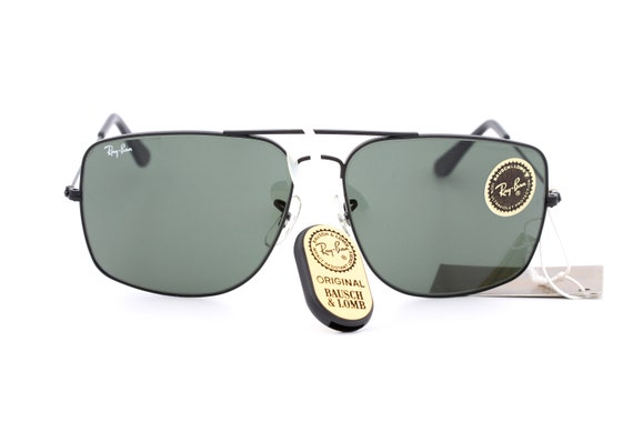 Ray Ban B&L vintage aviator square sunglasses made