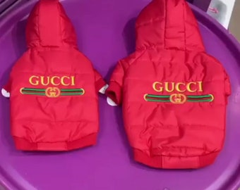 23957914f Exclusive Dog Jacket In Red perfect for Spring and Autumn /Top Dog/Dog  Overall/Dog Jacket/Vip Dog Clothes/Dog Top/DogOverall/Dog Jumpsuit