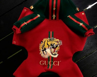 073a10020 New Collection For Posh Dog Vip Dog Exclusive Tiger Red SweatShirt/Dog Top/Dog  Hoodie /Dog Jacket/Vip Dog Clothes/Dog Outwear/Dog Clothing