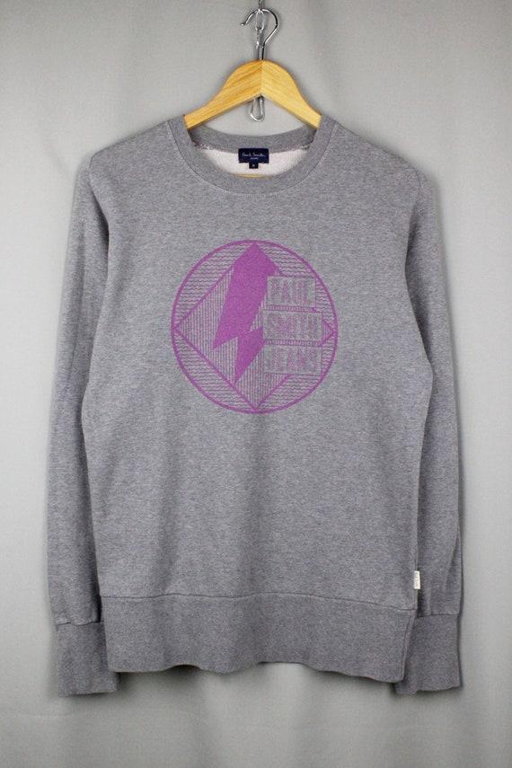 Paul Smith Logo Gray Sweatshirt