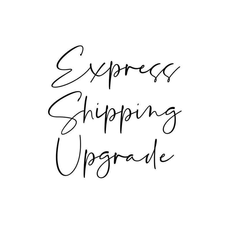 Reserved custom listing Express Upgade