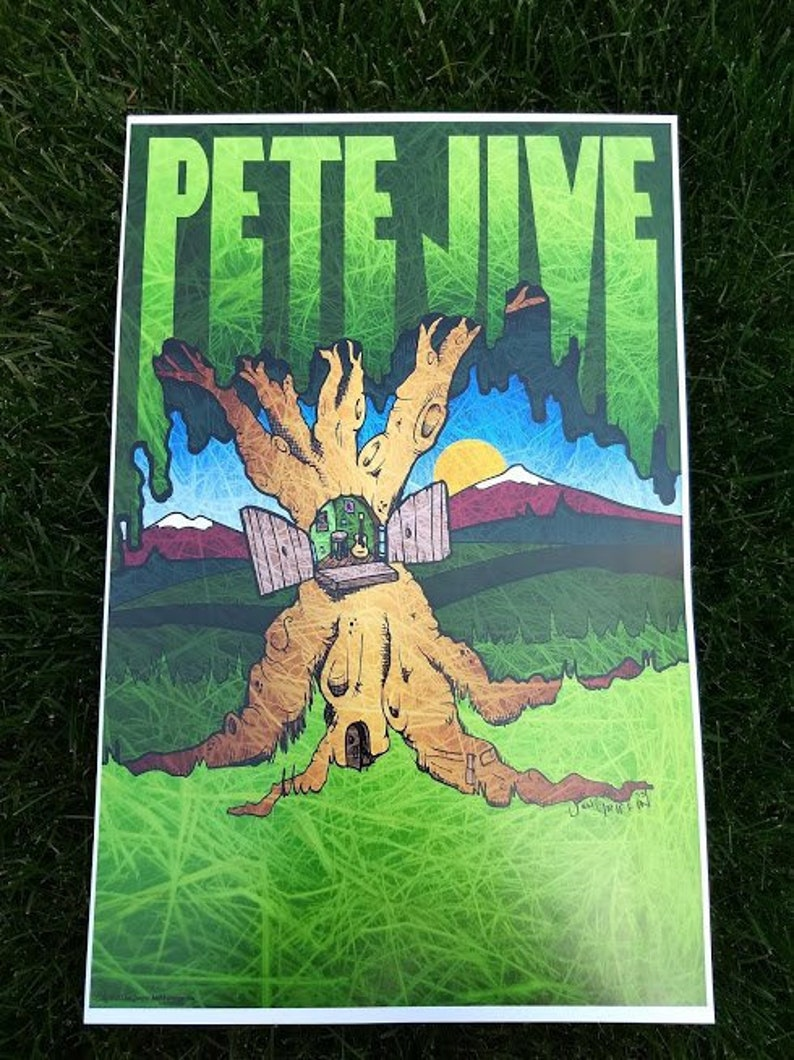 Tree Jive Poster 11x17 artwork by: Jon Griffin image 0