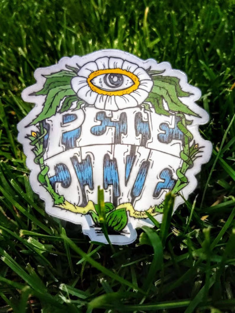 Grass Jive 3 Sticker image 0