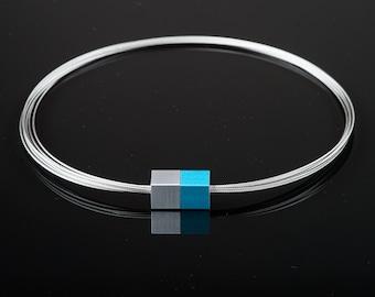MSW1 - Magnetic Necklace - Magnetic Jewelry - Magnetic Clasp - Purist Jewelry - Minimalist Jewelry - Statement Jewelry - Alu