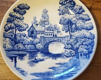 Nasco Earth Stone Japan Plate ~ Daisy Plate ~ Daisy Serving Platter ~ Earth Stone Japan Platter ~ Yellow Daisy Plate